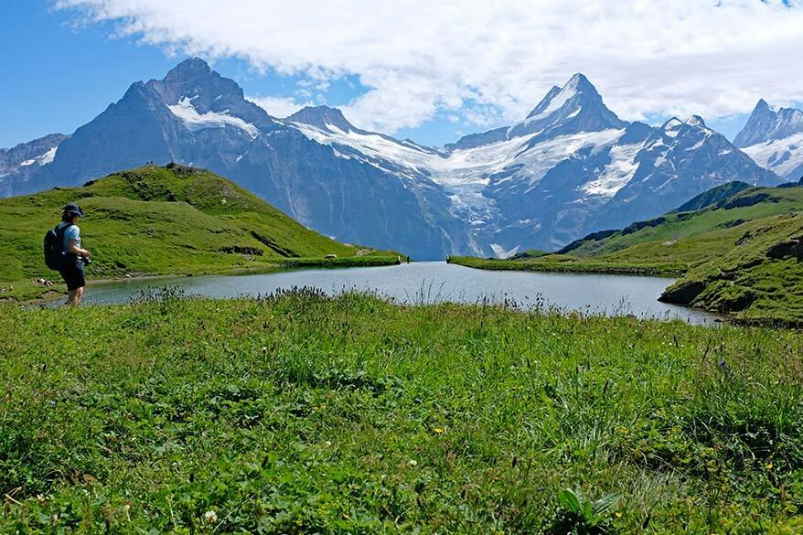Bachalpsee Lake - one of the best short hikes in Grindelwald