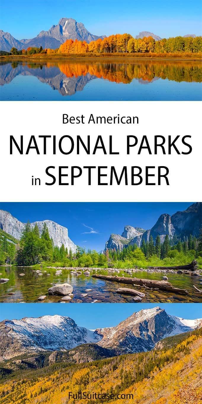 Best National Parks in September