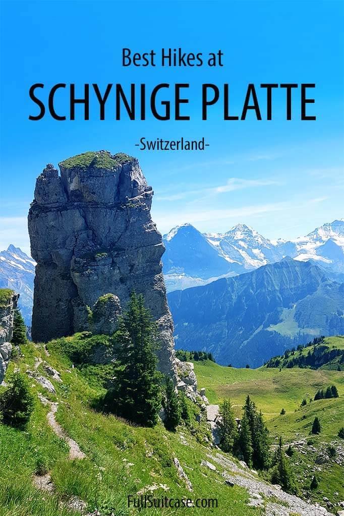 Best hikes at Schynige Platte Switzerland