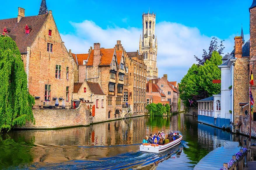 Bruges in Belgium - a popular day trip from Amsterdam
