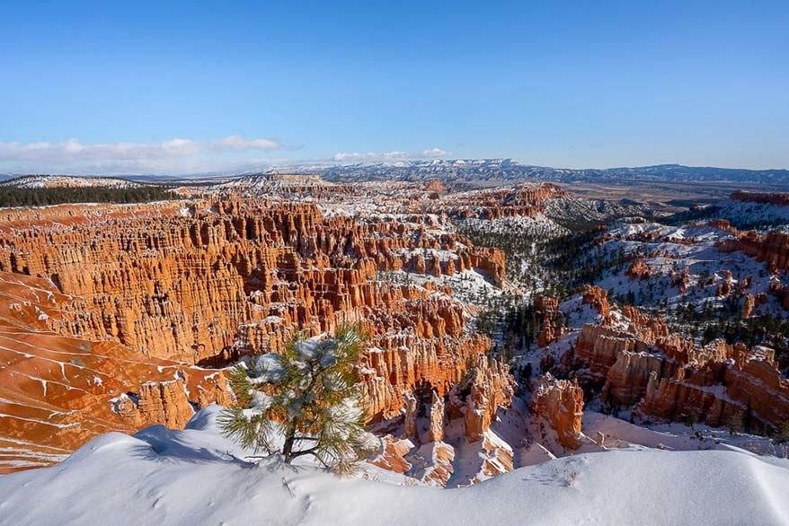Bryce National Park in November