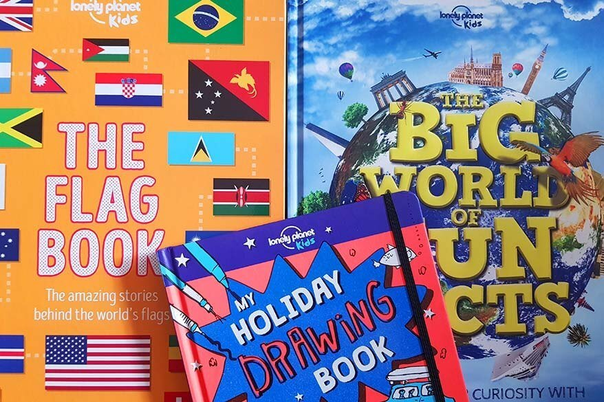 Children's travel books by Lonely Planet kids