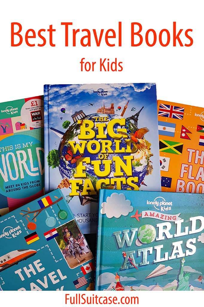 Children's travel books
