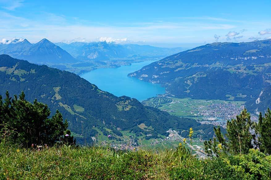 Daube viewpoint - Schynige Platte Switzerland