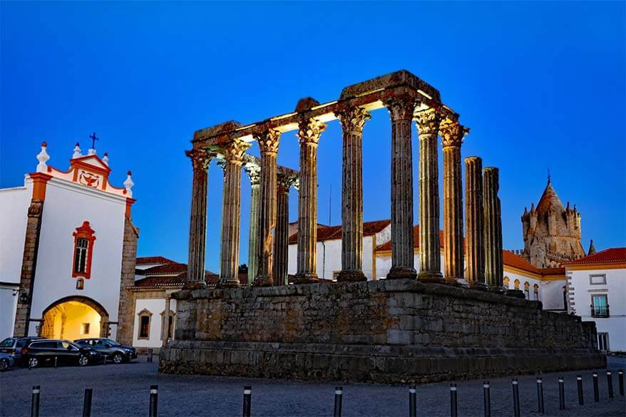 Evora - one of the best towns in Portugal