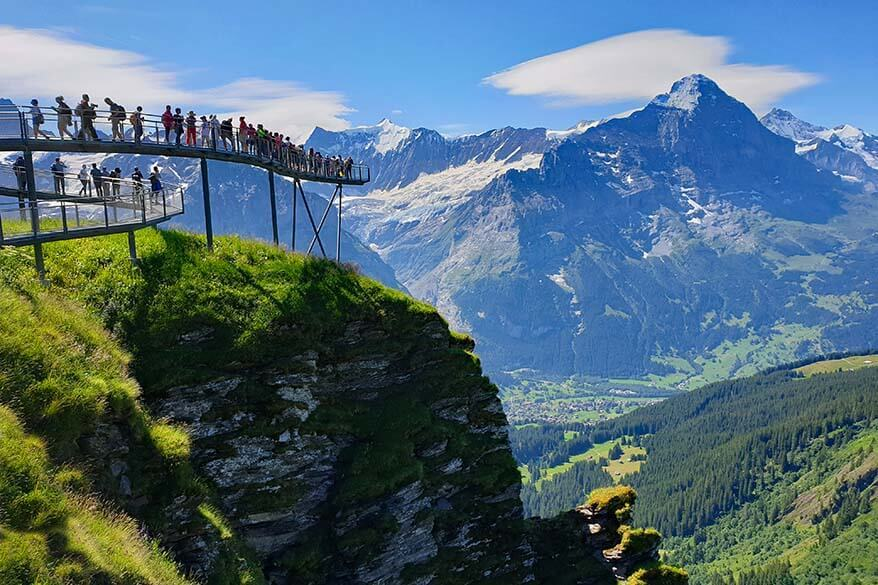 How to Visit First Cliff Walk in Grindelwald