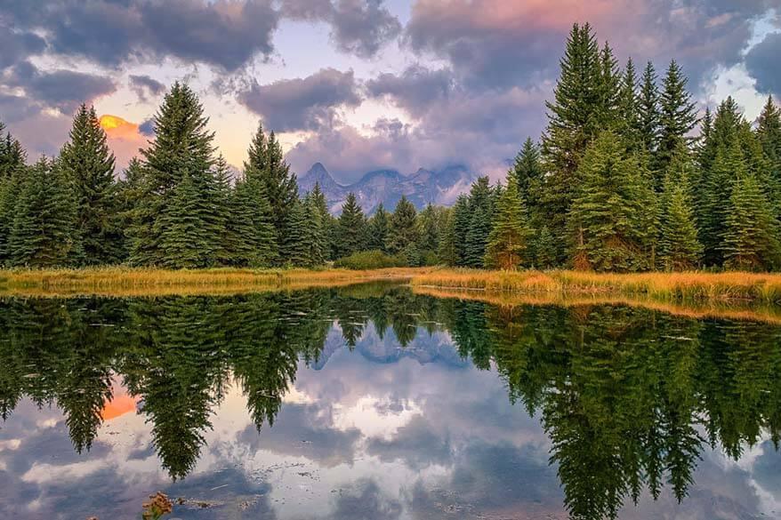 Grand Teton National Park in early September