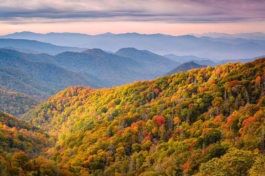 Great Smoky Mountains National Park in November