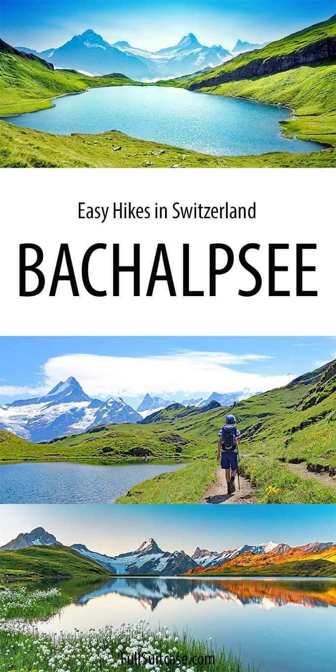 Hiking to Bachalpsee - Grindelwald, Switzerland