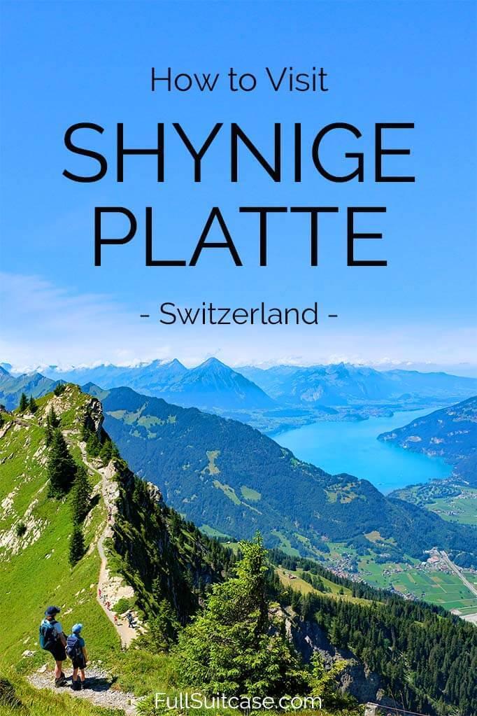 How to visit Schynige Platte in Switzerland