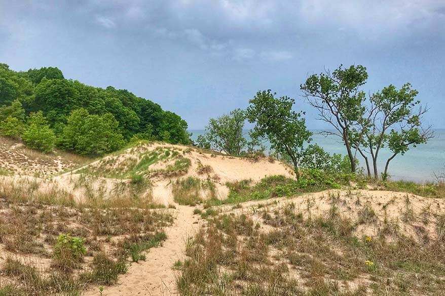 Indiana Dunes National Park in September