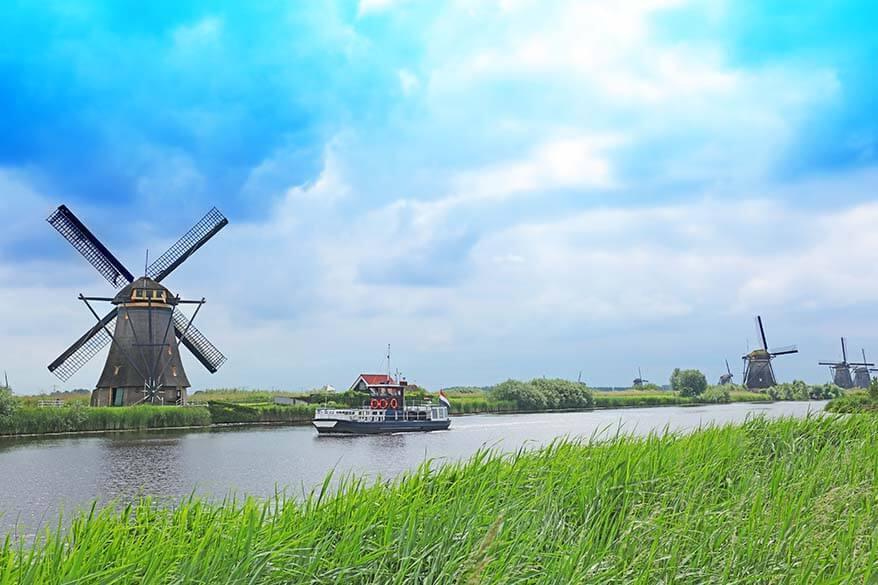 Kinderdijk UNESCO World Heritage Site