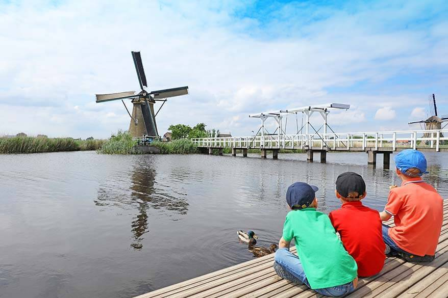 Kinderdijk day trip