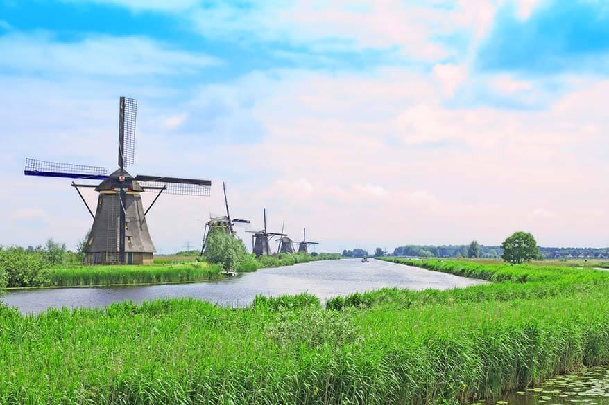 Kinderdijk in the Netherlands