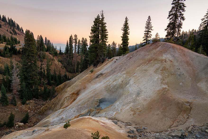 Lassen Volcanic National Park in October