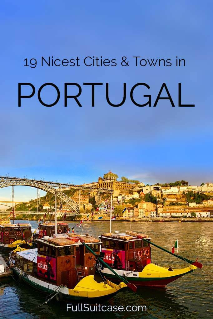 Most beautiful cities in Portugal
