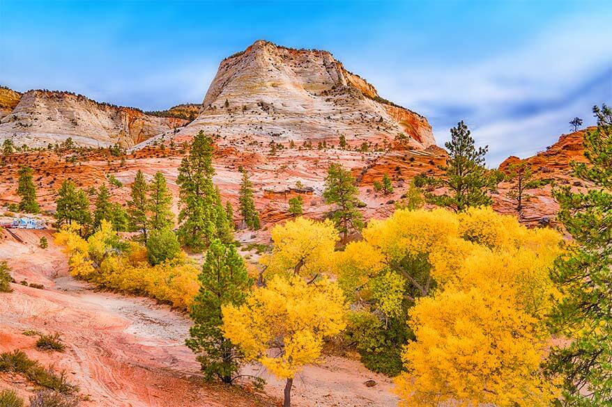 American National Parks in October