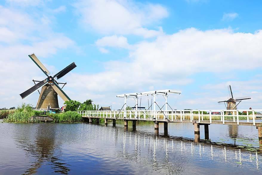 Nederwaard windmill Kinderdijk