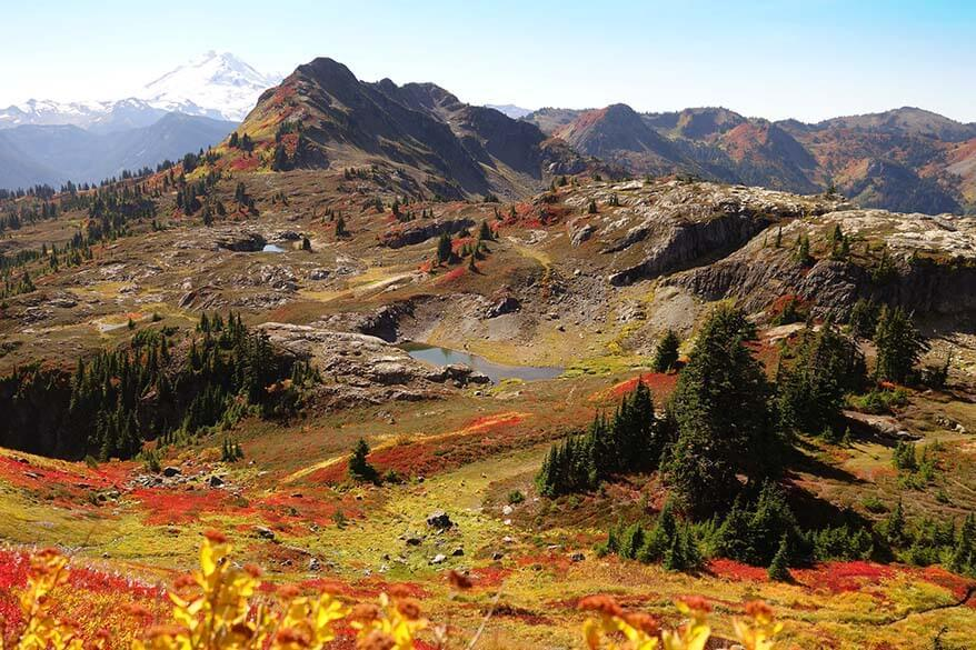 North Cascades National Park in September