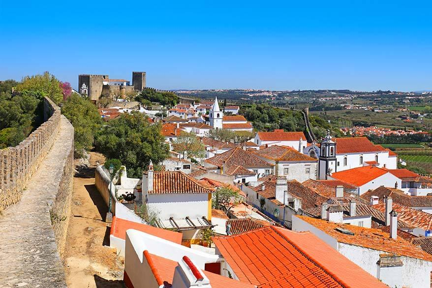 Obidos - one of the best towns to visit in Portugal