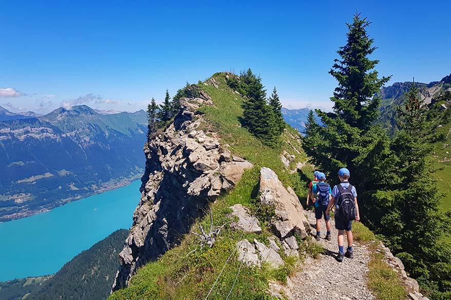 Panorama Trail at Schynige Platte