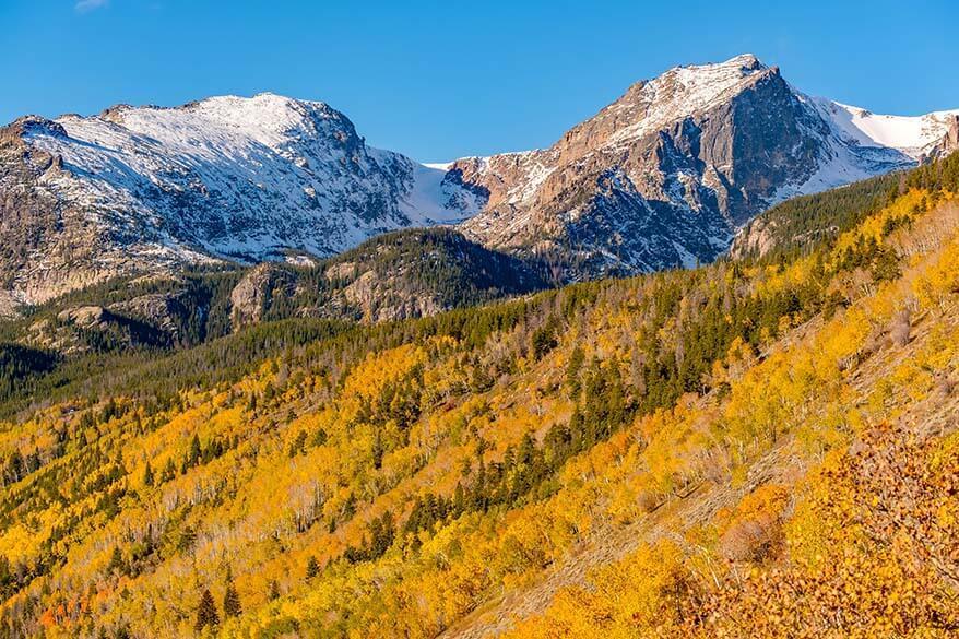 Rocky Mountain National Park in September