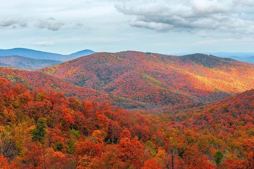 Shenandoah National Park in October