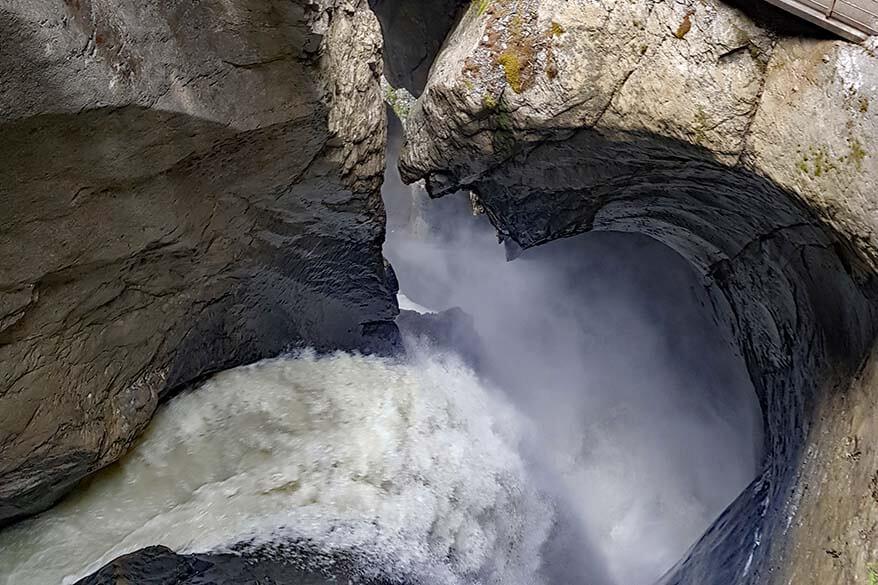 Trummelbach waterfalls