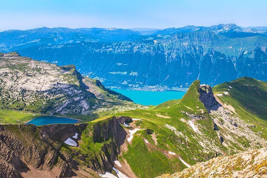 Views from Faulhorn peak