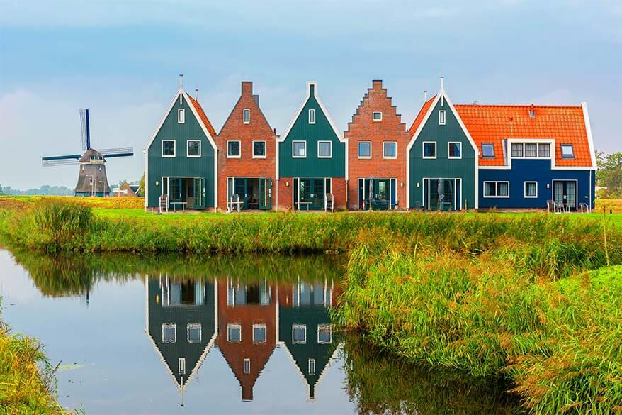 Volendam - Marken area is a great day trip from Amsterdam