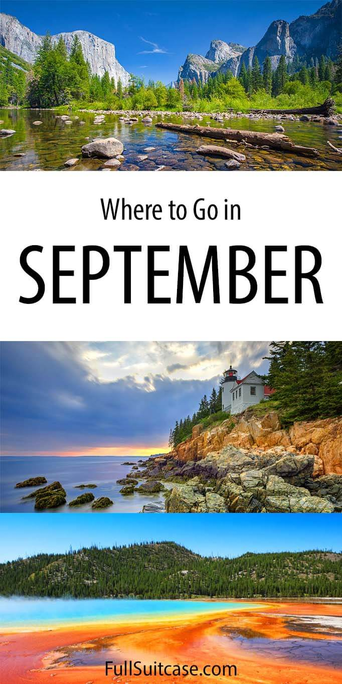 Where to go in September - best national parks for Labor Day weekend and beyond