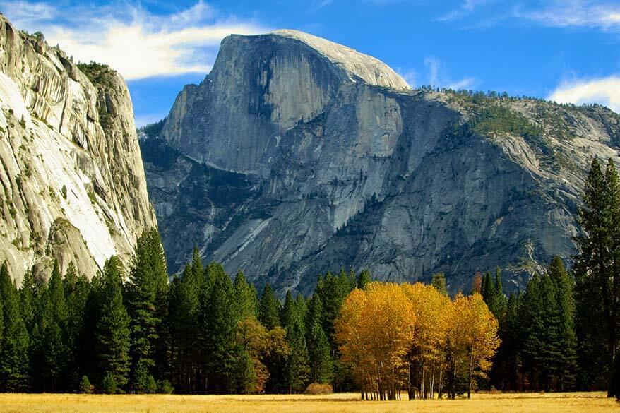 Yosemite National Park in October