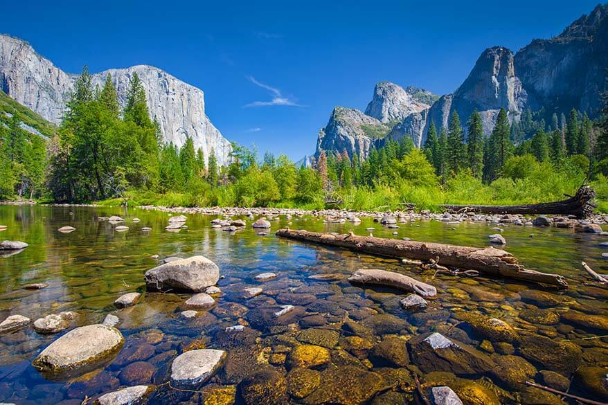 Yosemite National Park in September