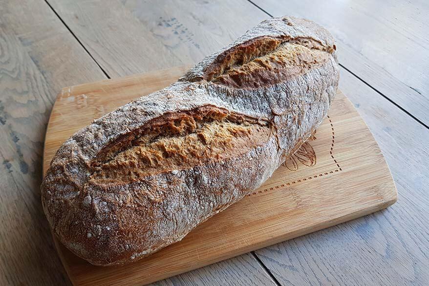 corona diary day 31 - fresh bread