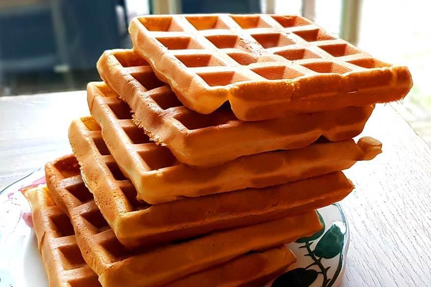 corona diary day 39 - waffles