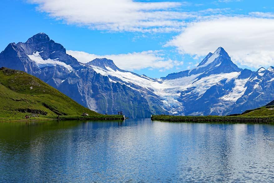 Bachalpsee Lake at Grindelwald First