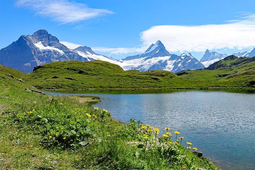 Bachalpsee Lake in Grindelwald