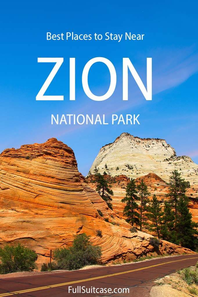 Best places to stay in and near Zion National Park in USA