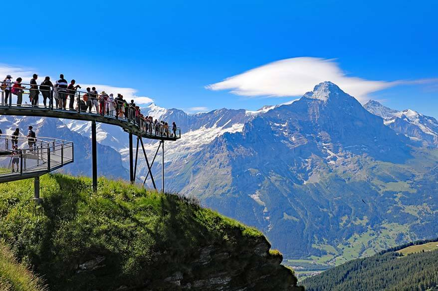 Best things to do in Grindelwald First - First Cliff Walk
