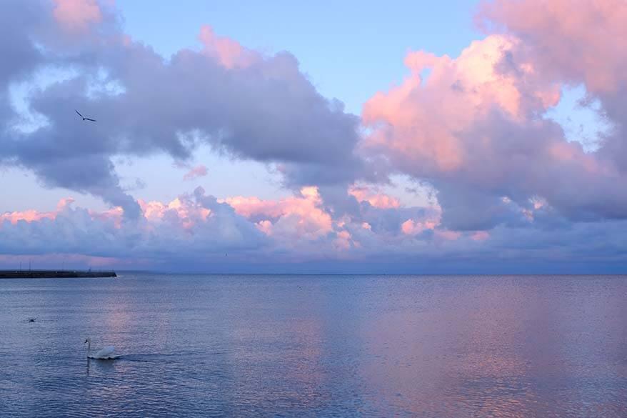 Curonian Lagoon Sunset