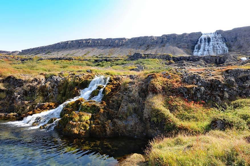 Dynjandi - Fjallfoss waterfalls