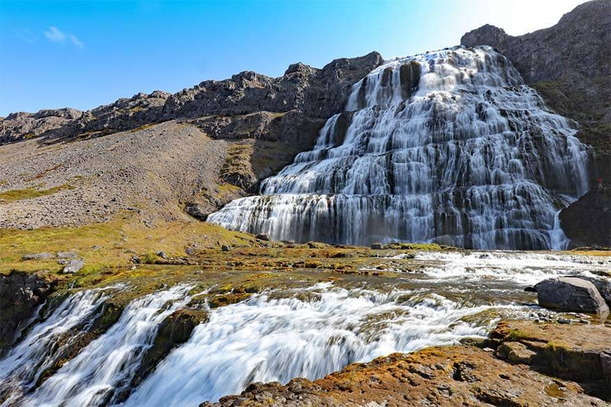 Dynjandifoss - a must in any Westfjords itinerary