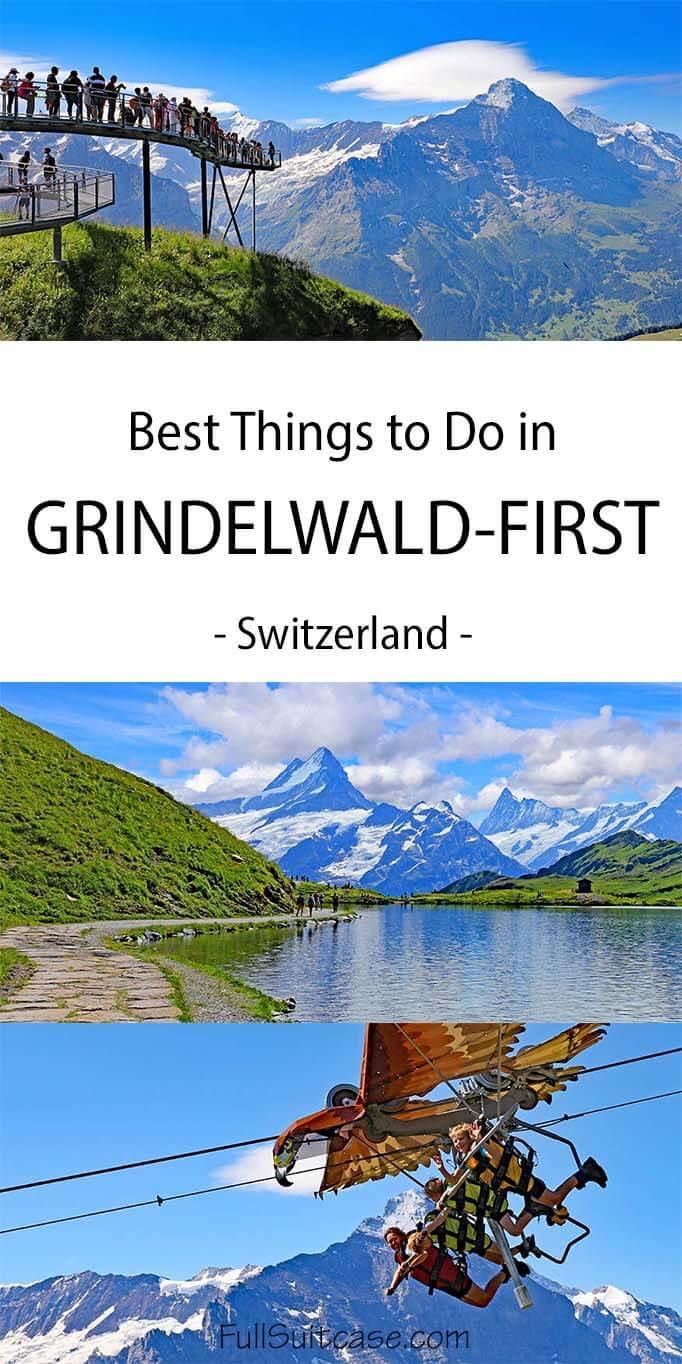 Grindelwald-First in Switzerland