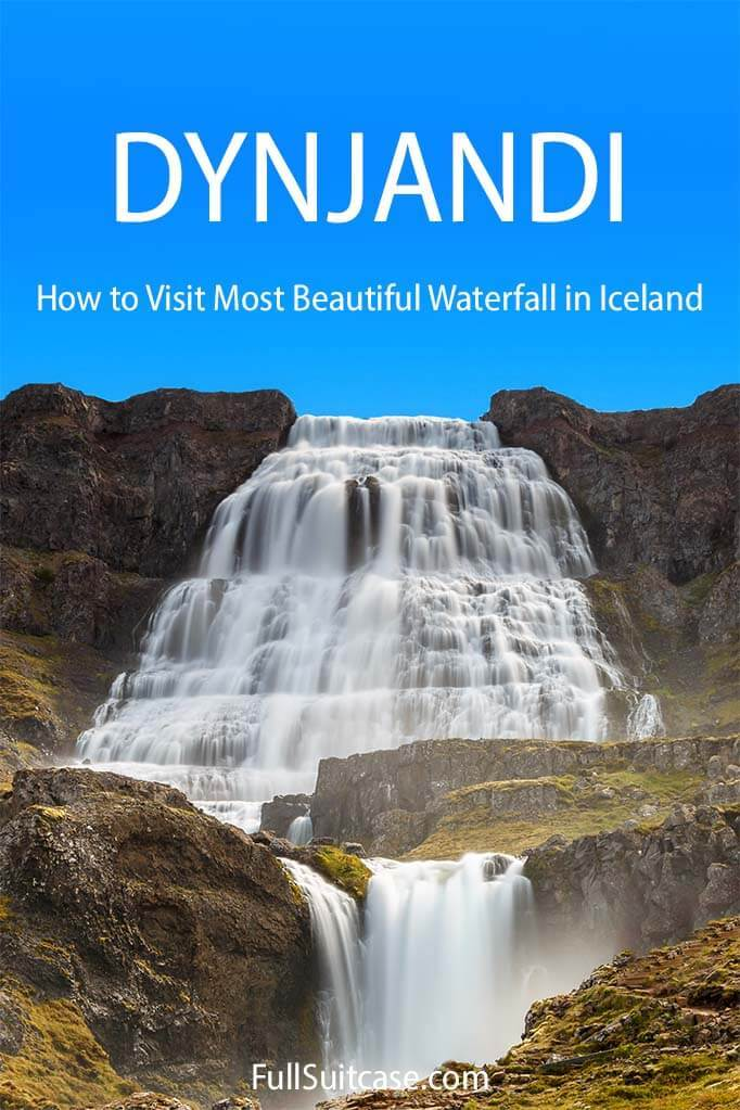 Guide to visiting Dynjandi waterfall in Iceland