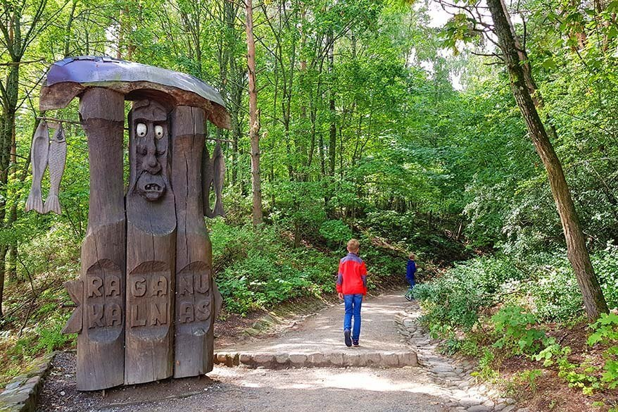 Hill of Witches is one of the most popular places to see in the Curonian Spit