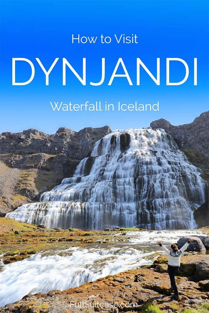 How to visit Dynjandi waterfall in Iceland