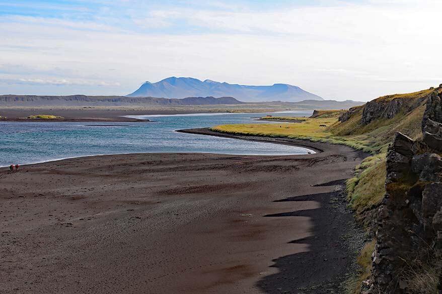 Hvitserkur beach