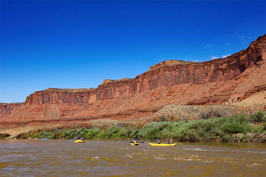 Moab rafting tour