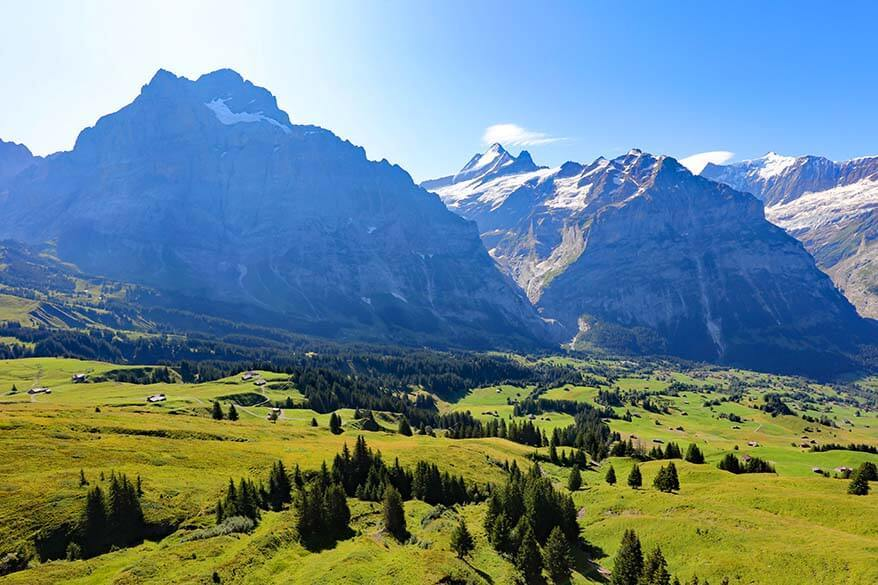 Mountains in Grindelwald