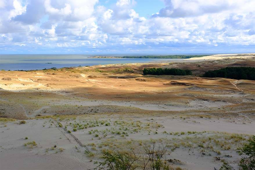 Parnidis Dune - must see on the Curonian Spit